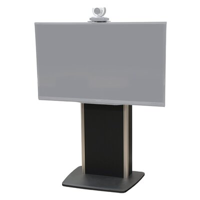 "Fixed Base Telepresence Stand for 40"" - 80"" Displays Finish: Shark Gray"