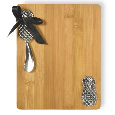 Pineapple Cutting Board and Spreader Set