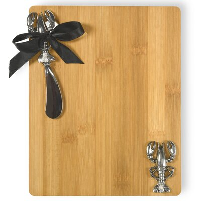 Lobster Cutting Board Anchor Cutting Board and Spreader Set