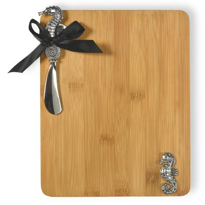 Seahorse Cutting Board and Spreader Set