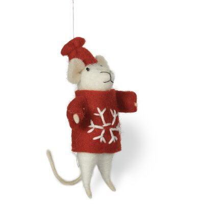 Milton Mouse Hanging Figurine (Set of 2)