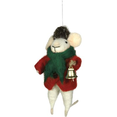 Melvin Mouse Hanging Figurine (Set of 2)