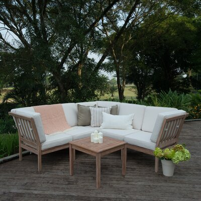 Willow 6 Piece Sectional Set with Cushions