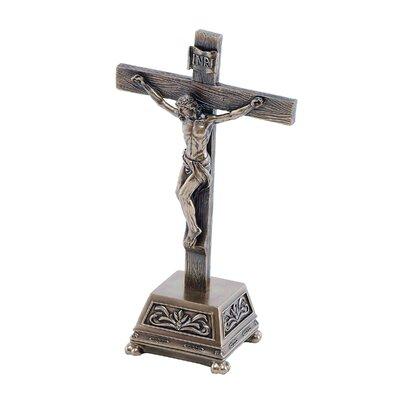 GenesisFineArtsLtd Abbey Crucifix Figurine