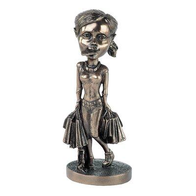 GenesisFineArtsLtd Mobile Molly Can't Talk Now Figurine