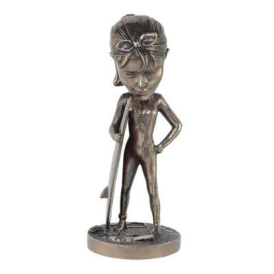 GenesisFineArtsLtd Mobile Molly Surfin Figurine
