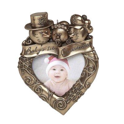 GenesisFineArtsLtd Christmas Baby's Picture Frame