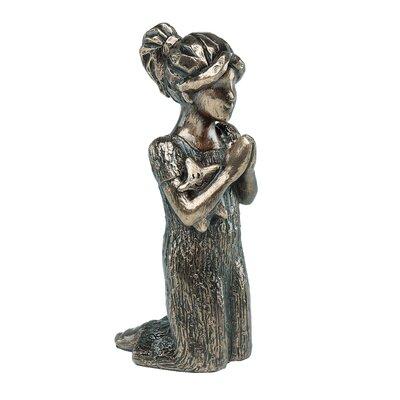 GenesisFineArtsLtd Bedtime Prayers Girl Figurine