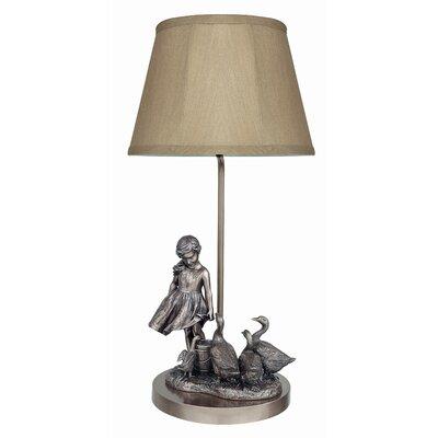 GenesisFineArtsLtd The Goose Girl 50.8cm Table Lamp
