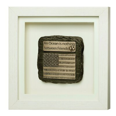 GenesisFineArtsLtd Friendship Framed Wall Plaque