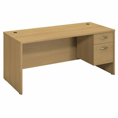 Series C Desk Color: Light Oak