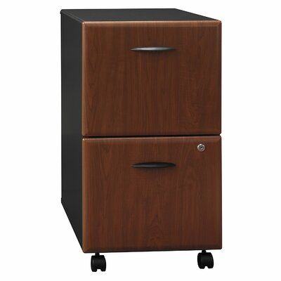 Series A 2 Drawer Vertical File Cabinet Finish: Hansen Cherry (assembled)