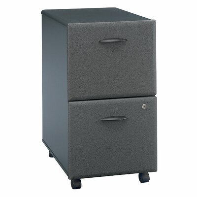 Series A 2 Drawer Vertical File Cabinet Finish: Slate (assembled)