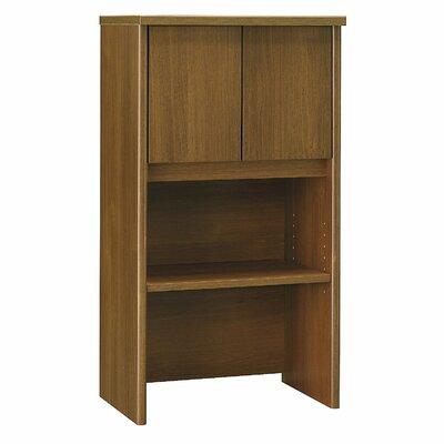 """Series C 43.01"""" H x 23.54"""" W Desk Hutch Finish: Warm Oak"""