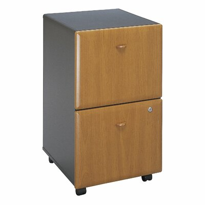 Series A 2 Drawer Vertical File Cabinet Finish: Natural Cherry (assembled)
