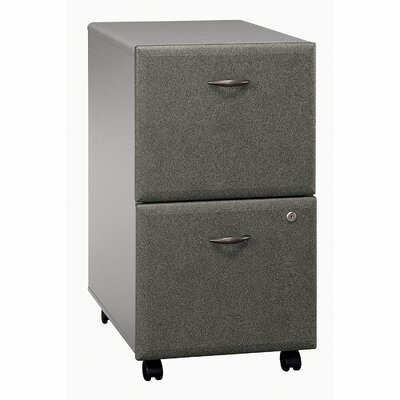 Series A 2 Drawer Vertical File Cabinet Finish: Pewter (assembled)