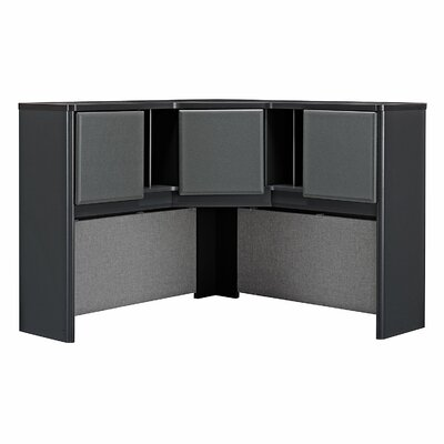 "Series A 36.5"" H x 47.17"" W Desk Hutch Finish: Slate"
