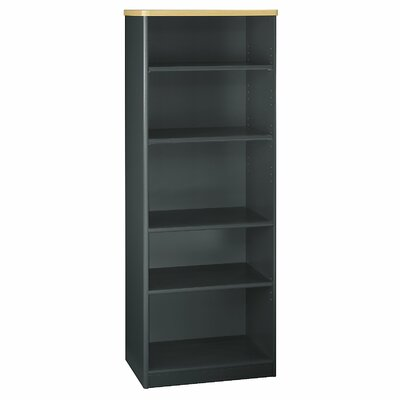 Series A Standard Bookcase Finish: Euro Beech / Slate Gray