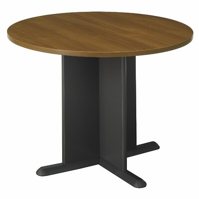 "Circular 29.8""H x 41.38""W x 41.38""L Conference Table"