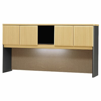 "Series A 36.5"" H x 71.54"" W Desk Hutch Finish: Hansen Cherry"