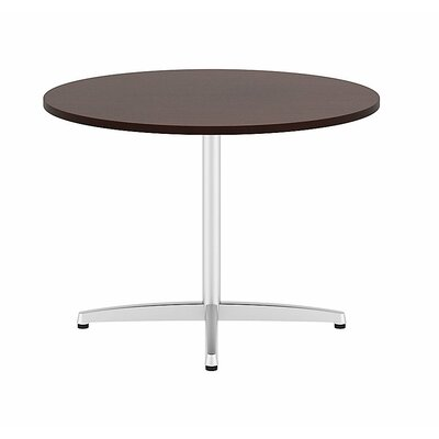 "Circular 29.66""H x 41.38""W x 41.38""L Conference Table Top Finish: Harvest Cherry"