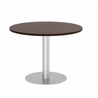 """Circular 29.66""""H x 41.38""""W x 41.38""""L Conference Table Top Finish: Harvest Cherry"""