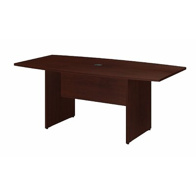 "Boat shaped 28.65""H x 35.98""W x 71.54""L Conference Table Finish: Harvest Cherry"