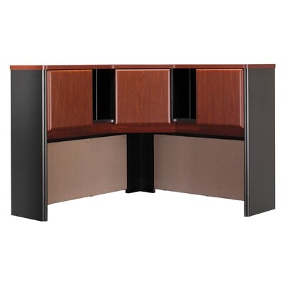 "Series A 36.5"" H x 47.17"" W Desk Hutch Finish: Hansen Cherry"