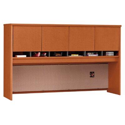 """Series C 43"""" H x 71"""" W Desk Hutch Finish: Autumn Maple"""