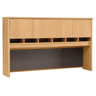 "Series C 43"" H x 71"" W Desk Hutch Finish: Danish Oak/Sage"