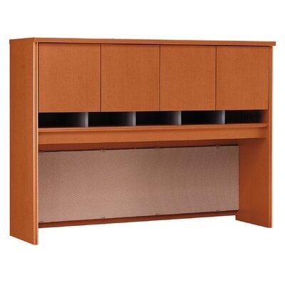 "Series C 43"" H x 60"" W Desk Hutch Finish: Autumn Cherry"