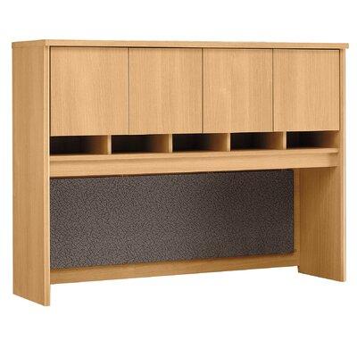 "Series C 43"" H x 60"" W Desk Hutch Finish: Danish Oak/Sage"