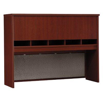 "Series C 43"" H x 60"" W Desk Hutch Finish: Mahogany"
