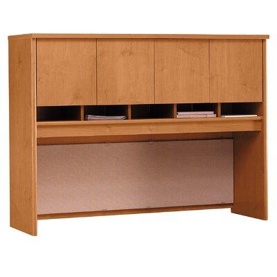 "Series C 43"" H x 60"" W Desk Hutch Finish: Natural Cherry"