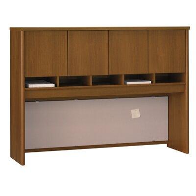 """Series C 43"""" H x 60"""" W Desk Hutch Finish: Caf Oak"""