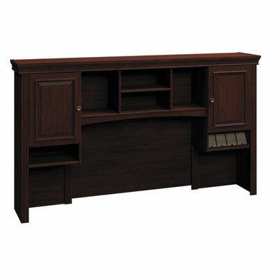 "Syndicate 41.3"" H x 72"" W Desk Hutch Finish: Harvest Cherry"
