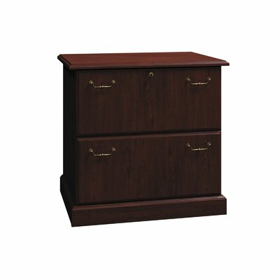 Syndicate 2-Drawer Lateral File Color: Mocha Cherry