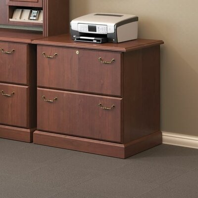 Syndicate 2-Drawer Lateral File Color: Harvest Cherry