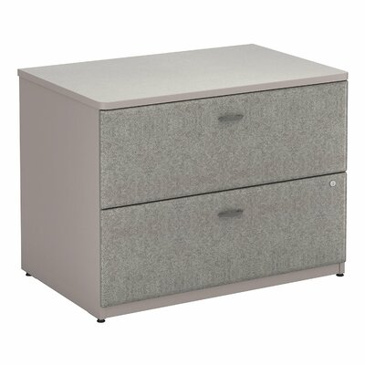 Series A 2 Drawer Lateral File Finish: Pewter