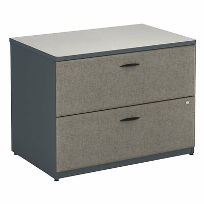 Series A 2 Drawer Lateral File Finish: Slate (Assembled)