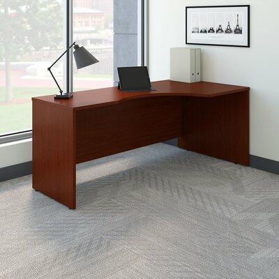 Series C Right Handed Corner Desk Color: Mahogany