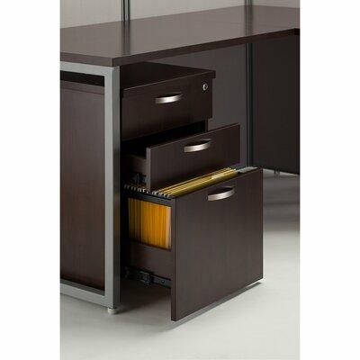 Easy Office 3-Drawer Mobile Vertical Filing Cabinet