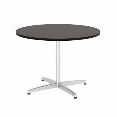 "Circular 29.66""H x 41.38""W x 41.38""L Conference Table Top Finish: Mocha Cherry"