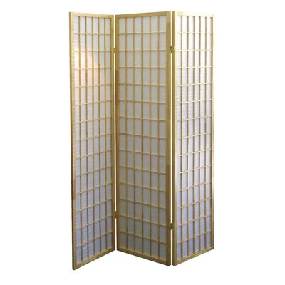 Winhurst Room Divider Color: Natural, Number of Panels: 3