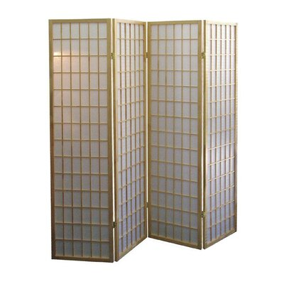 Winhurst Room Divider Color: Natural, Number of Panels: 4