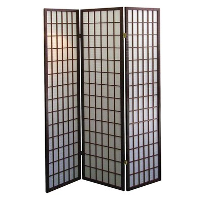 Winhurst Room Divider Color: Cherry, Number of Panels: 3