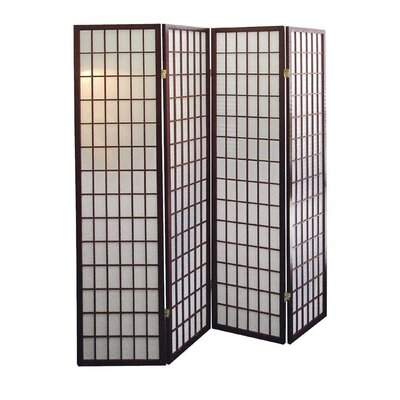 Winhurst Room Divider Color: Cherry, Number of Panels: 4