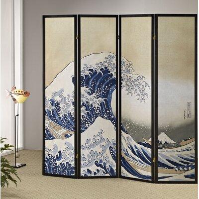 Winfrey Tsunami 4 Panel Room Divider