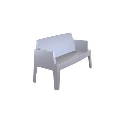 GardenImpressions Box 2 Seater Polypropylene Bench