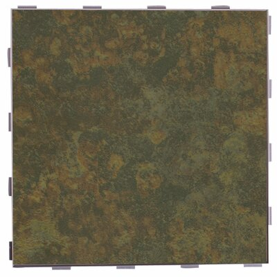 """Classic ThinLine 12"""" x 12"""" Porcelain Field Tile in Moss"""